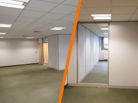 Small Office Fit Out Case Study Kb Interiors Leeds